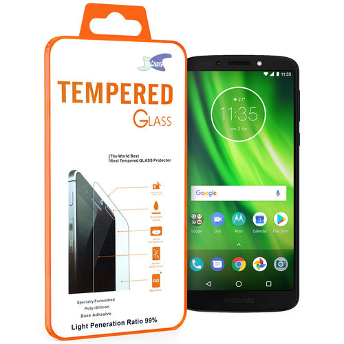 Calans 9H Tempered Glass Screen Protector for Motorola Moto G6 Play
